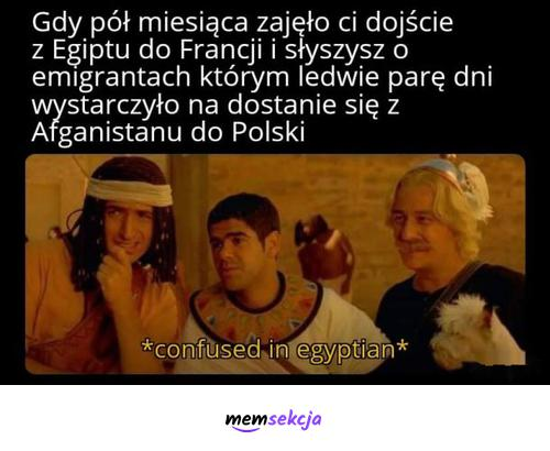 W kilka dni z Afganistanu do Polski. Memy. Emigranci. Imigranci. Afganistan