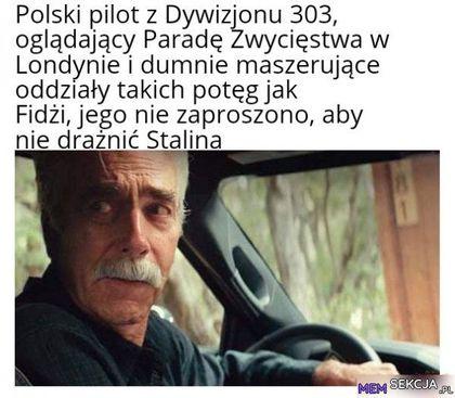 Polski pilot z dywizjonu 303,