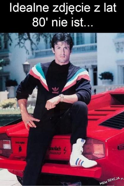 Idealne zdjęcie z lat 80