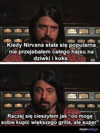 Kiedy Nirvana stała siępopularna