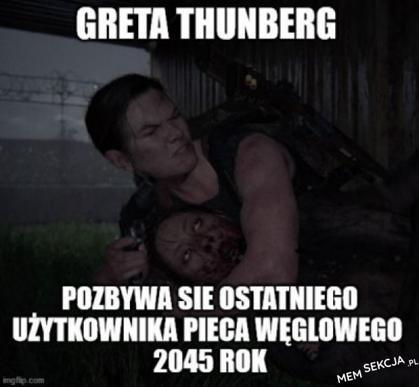 Gretą Thunberg ponownie atakuje
