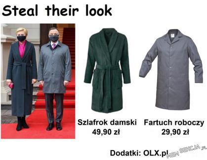 Steal their look