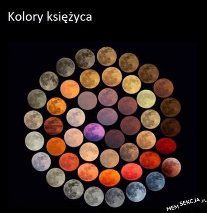 paleta barw księżyca