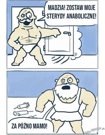 zostanę siłaczką