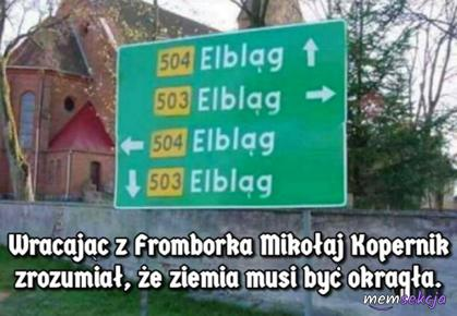 Wszystkie drogi prowadzą do Elbląga