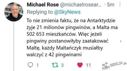 Malta vs Antarktyda. Nierówna walka
