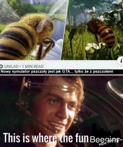Symulator pszczoły jak GTA