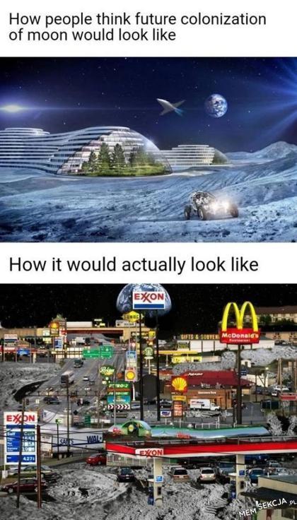 Jak naprawdę będzie wyglądało osiedlenie księżyca