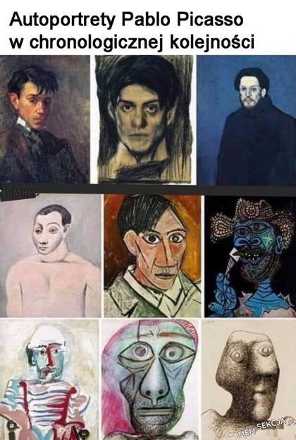 autoportrety Pablo Picasso