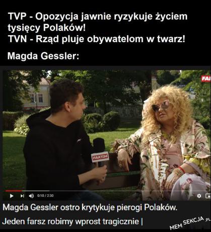 Magda Gessler krytykuje pierogi Polaków