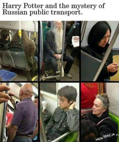 Harry Potter i tajemnice moskiewskiego metra