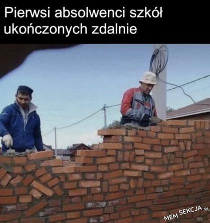 Kurs murarstwa przez zooma
