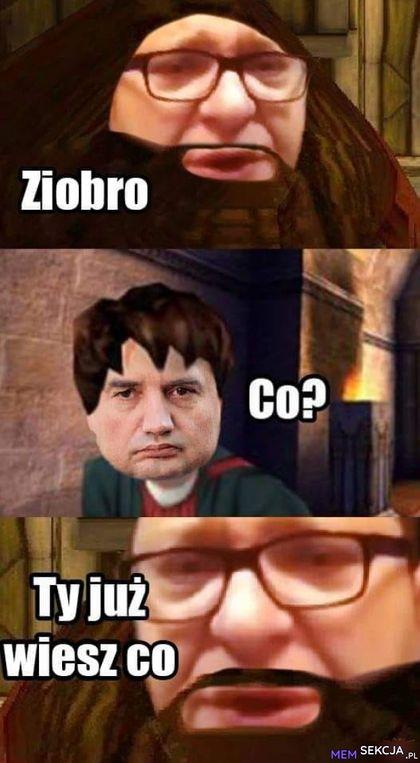 Ziobro, ty już najlepiej wiesz co