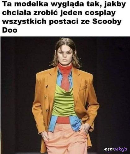 Jeden cosplay wszystkich postaci Scooby Doo