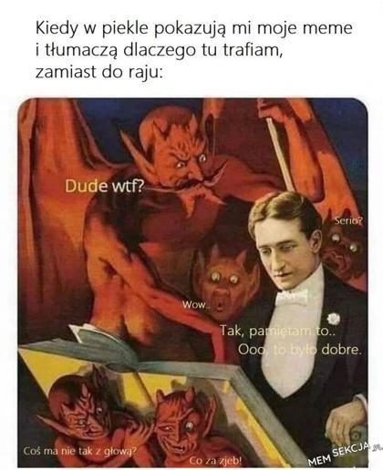 Piekielnie dobre memy