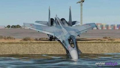 F-16 przy wodopoju