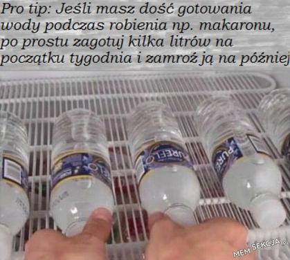 Co zrobić, aby mieć gotową wodę na makaron