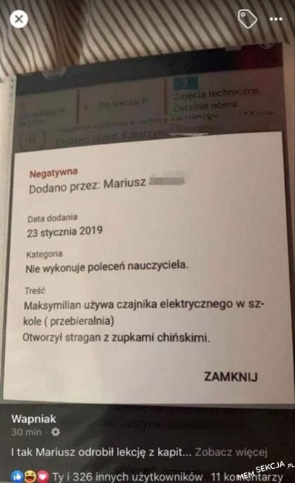 No i tak się tępi polską myśl przedsiębiorczą