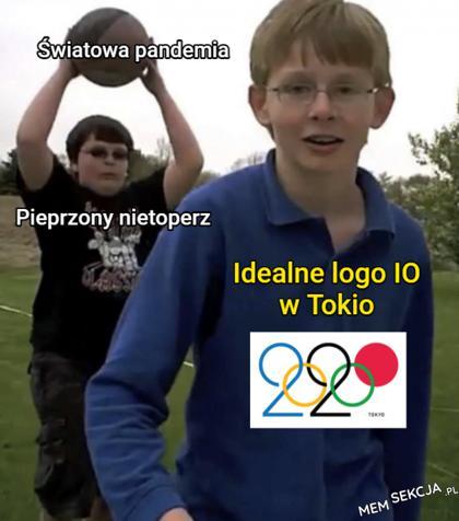 Idealne logo igrzysk olimpijskich w Tokio się zmarnowało