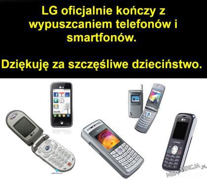 LG kończy wypuszczanie telefonów i smartfonów. Ciekawostki