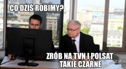 Zrób takie czarne na Polsacie i TVN