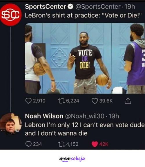 Vote or die. Śmieszne