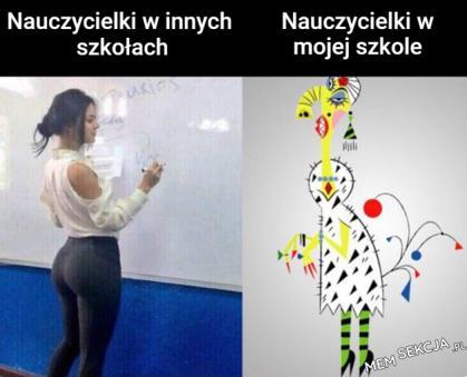 Nauczycielki w mojej szkole