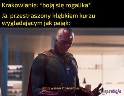 Może jestem Krakowiakiem