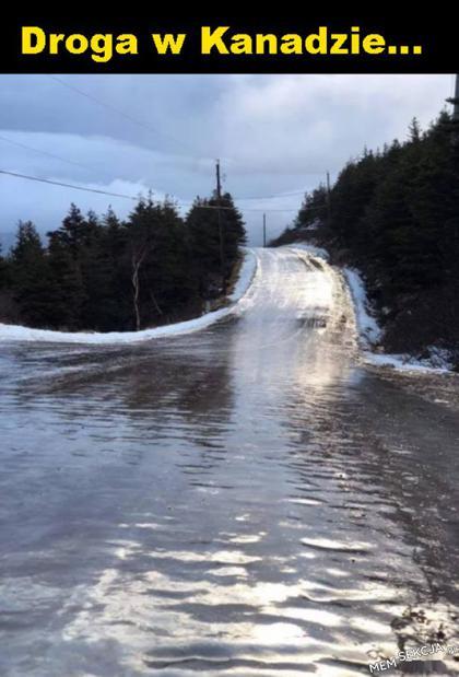 Droga w Kanadzie, powodzenia