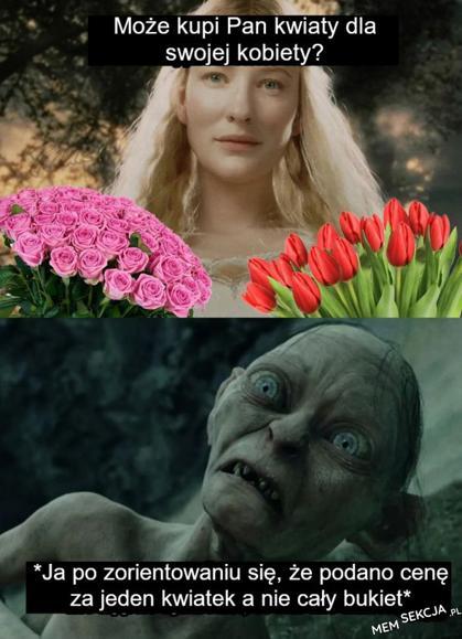 Może kupi Pan kwiaty dla swojej kobiety?