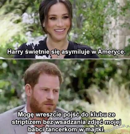 Harry się asymiluje