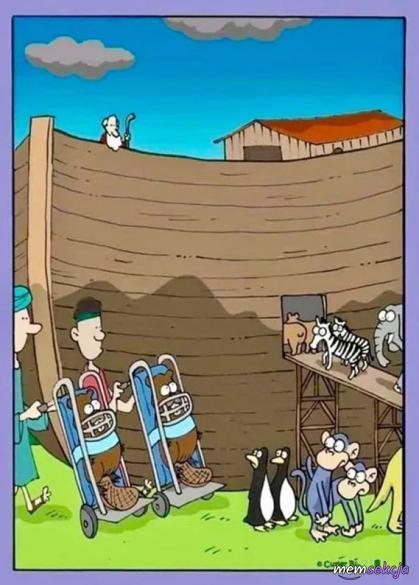 Bobry na Arce Noego