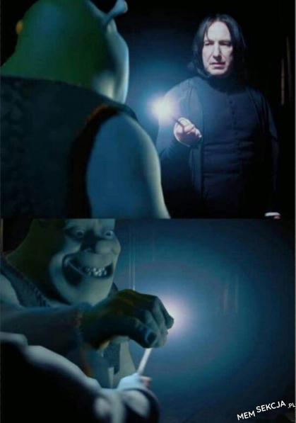 Shrek gasi Snape'a