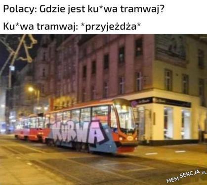 Kurwa tramwaj