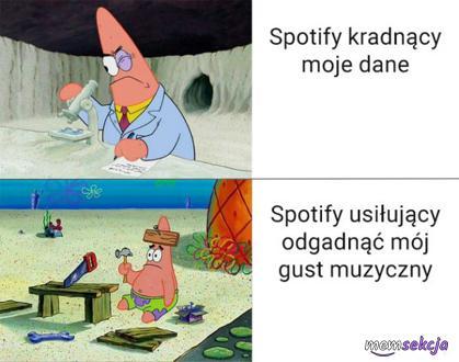 Spotify kradnąc moje dane
