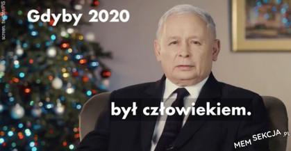 Gdyby 2020 był człowiekiem