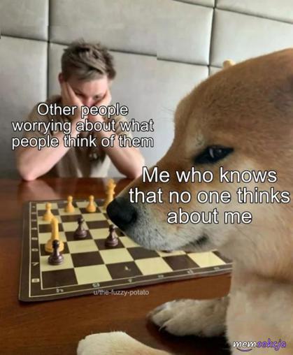 Nie martwię się tym co ludzie o mnie myślą