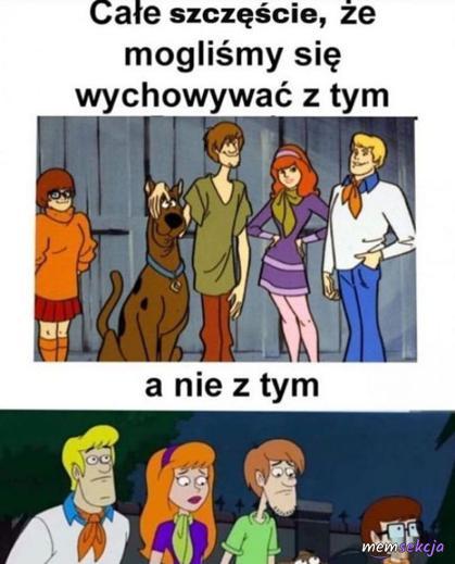 Scooby-Doo na którym się wychowaliśmy jest lepszy
