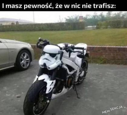 Bezpieczny motocykl
