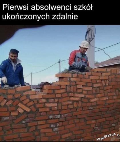 Powinni zdalnie stawiać te ściany