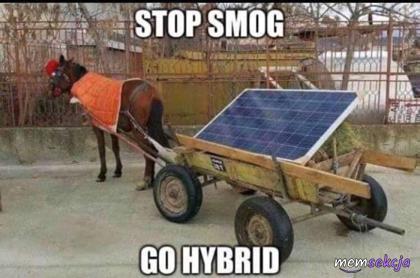 Stop smog, go hybrid