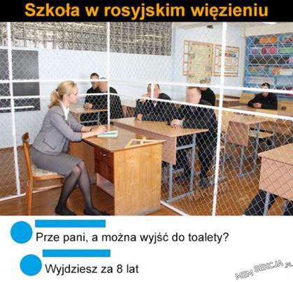 nauczyciel w klatce