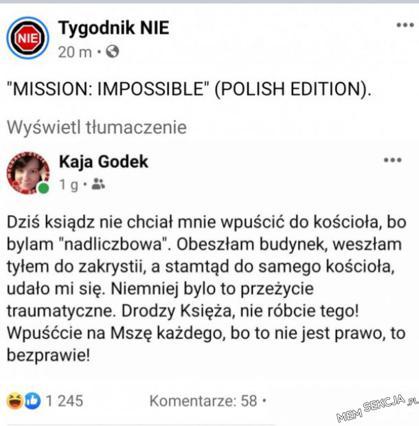 Mission Impossible Wersja Polska. Memy