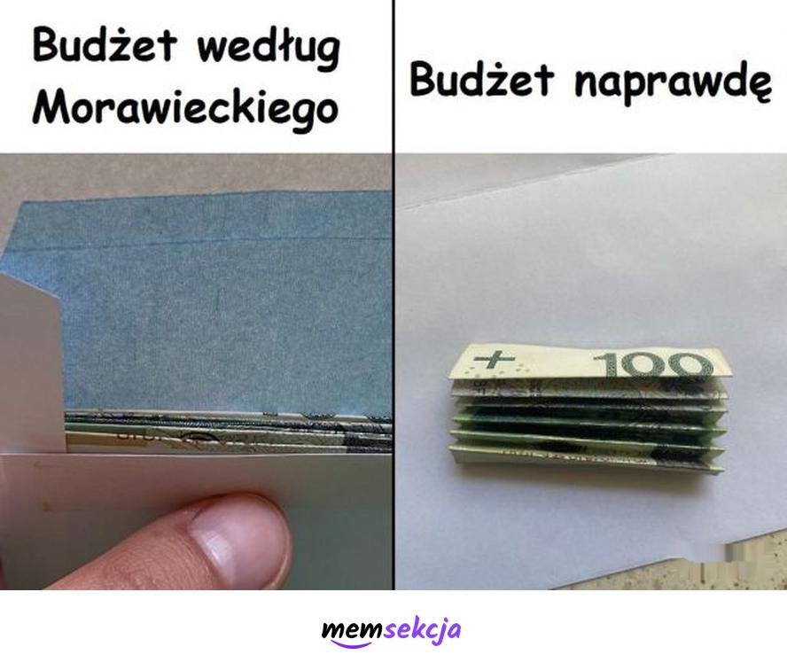 Budżet według Morawieckiego. Śmieszne. Budżet. Mateusz  Morawiecki