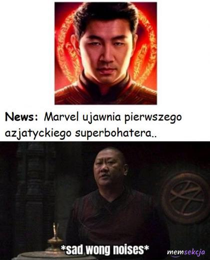 Pierwszy azjatycki superbohater