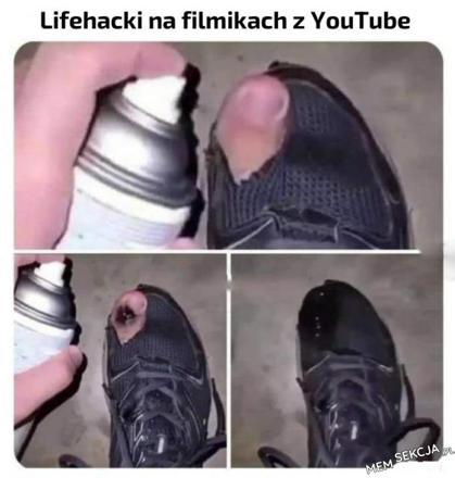 Lifehack na filmikach z youtube
