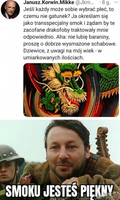 Janusz transpecjalny smok