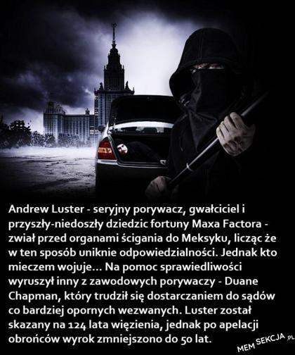 krótka historia Andre Lustera