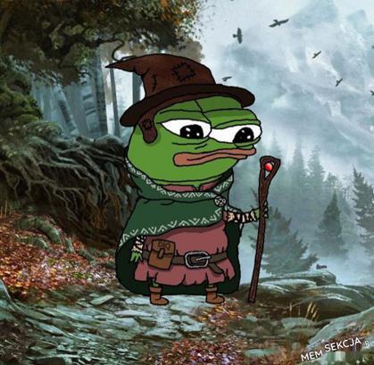 Pepe włóczykij. Memy