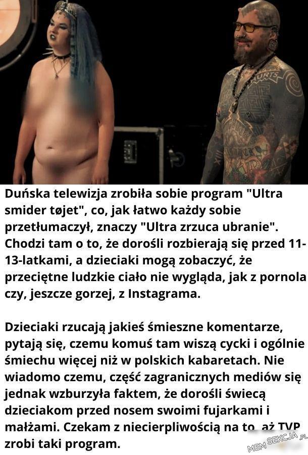"""Duńska telewizja zrobiła sobie program """"ultra"""